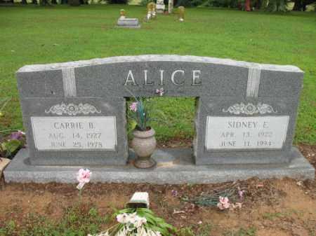 ALICE, CARRIE B - St. Francis County, Arkansas | CARRIE B ALICE - Arkansas Gravestone Photos