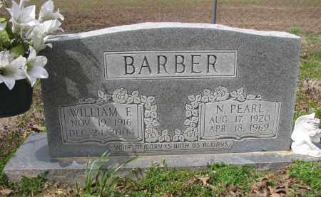 BARBER, N PEARL - St. Francis County, Arkansas | N PEARL BARBER - Arkansas Gravestone Photos