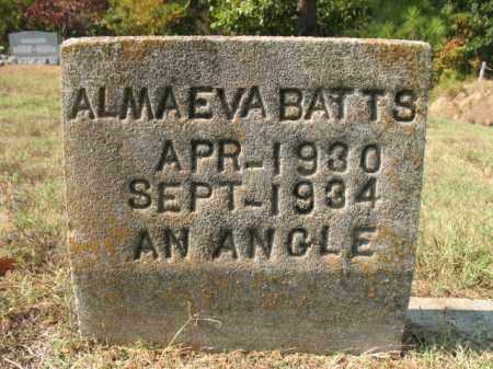BATTS, ALMA EVA - St. Francis County, Arkansas   ALMA EVA BATTS - Arkansas Gravestone Photos