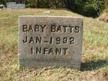 BATTS, BABY - St. Francis County, Arkansas | BABY BATTS - Arkansas Gravestone Photos