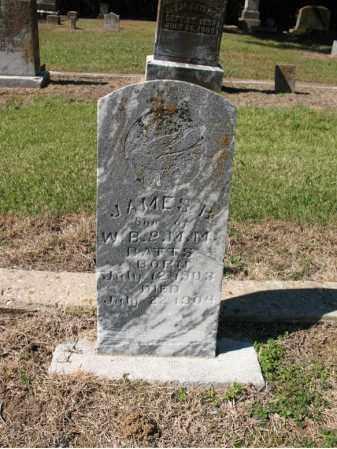 BATTS, JAMES BRUCE - St. Francis County, Arkansas | JAMES BRUCE BATTS - Arkansas Gravestone Photos