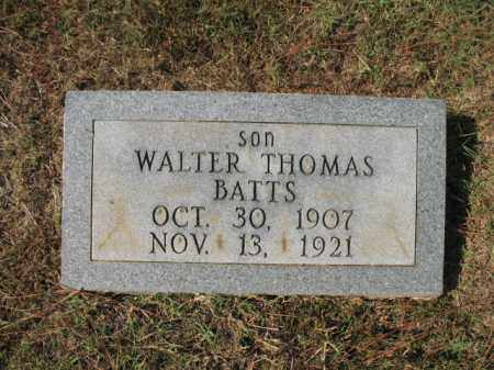 BATTS, WALTER THOMAS - St. Francis County, Arkansas | WALTER THOMAS BATTS - Arkansas Gravestone Photos