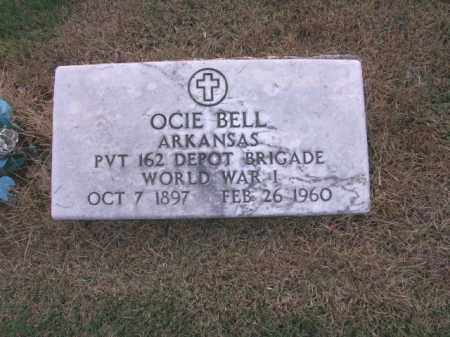 BELL  (VETERAN WWI), OCIE - St. Francis County, Arkansas   OCIE BELL  (VETERAN WWI) - Arkansas Gravestone Photos