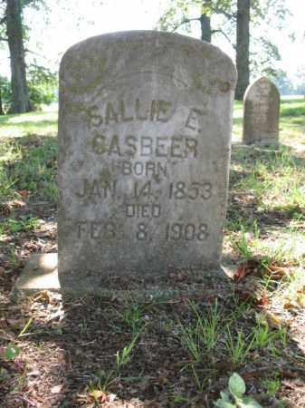 CASBEER, SALLIE E - St. Francis County, Arkansas   SALLIE E CASBEER - Arkansas Gravestone Photos