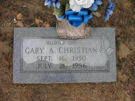 CHRISTIAN, GARY A - St. Francis County, Arkansas | GARY A CHRISTIAN - Arkansas Gravestone Photos