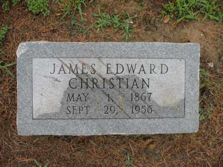CHRISTIAN, JAMES EDWARD - St. Francis County, Arkansas | JAMES EDWARD CHRISTIAN - Arkansas Gravestone Photos