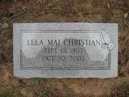 CHRISTIAN, LELA MAI - St. Francis County, Arkansas | LELA MAI CHRISTIAN - Arkansas Gravestone Photos