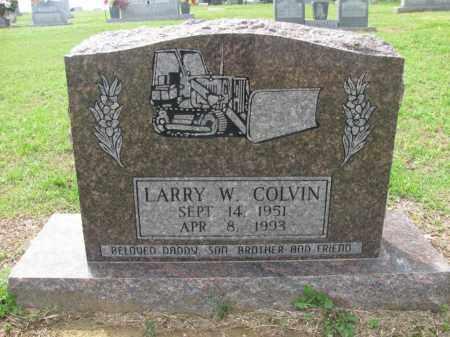 COLVIN, LARRY W - St. Francis County, Arkansas | LARRY W COLVIN - Arkansas Gravestone Photos