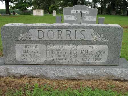 DORRIS, LEE ROY - St. Francis County, Arkansas | LEE ROY DORRIS - Arkansas Gravestone Photos
