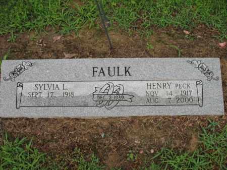 "FAULK, HENRY ""PECK"" - St. Francis County, Arkansas   HENRY ""PECK"" FAULK - Arkansas Gravestone Photos"