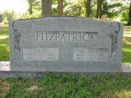 ANDERSON FITZPATRICK, ETHEL - St. Francis County, Arkansas | ETHEL ANDERSON FITZPATRICK - Arkansas Gravestone Photos