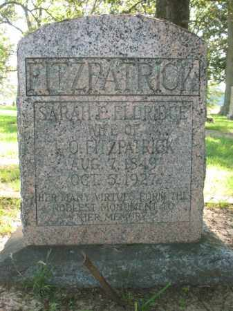 FITZPATRICK, SARAH E - St. Francis County, Arkansas | SARAH E FITZPATRICK - Arkansas Gravestone Photos