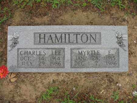 HAMILTON, CHARLES LEE - St. Francis County, Arkansas | CHARLES LEE HAMILTON - Arkansas Gravestone Photos