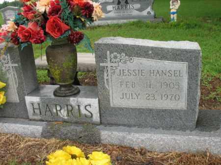 HANSEL HARRIS, JESSIE - St. Francis County, Arkansas | JESSIE HANSEL HARRIS - Arkansas Gravestone Photos