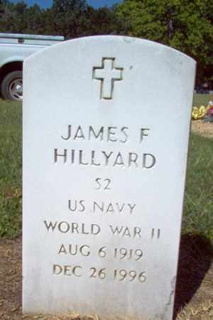 HILLYARD (VETERAN WWII), JAMES F - St. Francis County, Arkansas | JAMES F HILLYARD (VETERAN WWII) - Arkansas Gravestone Photos