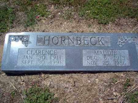 HORNBECK, CLARENCE - St. Francis County, Arkansas | CLARENCE HORNBECK - Arkansas Gravestone Photos