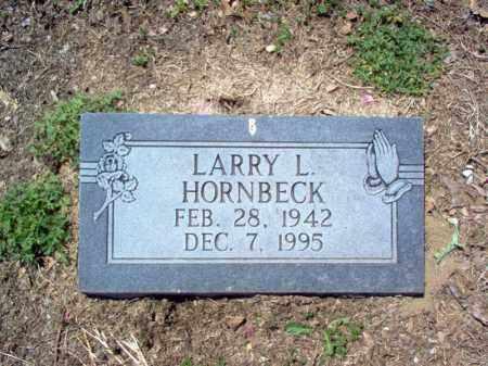 HORNBECK, LARRY L - St. Francis County, Arkansas | LARRY L HORNBECK - Arkansas Gravestone Photos