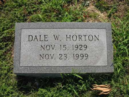 HORTON, DALE W - St. Francis County, Arkansas | DALE W HORTON - Arkansas Gravestone Photos