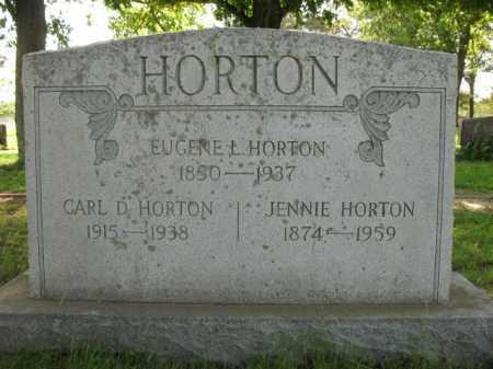 HORTON, JENNIE - St. Francis County, Arkansas | JENNIE HORTON - Arkansas Gravestone Photos
