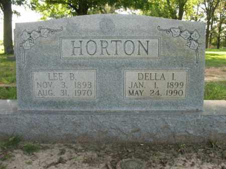 IZARD HORTON, DELLA - St. Francis County, Arkansas | DELLA IZARD HORTON - Arkansas Gravestone Photos