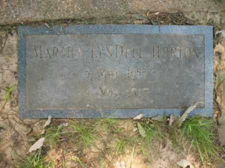 HORTON, MARTHA LYNDELL - St. Francis County, Arkansas   MARTHA LYNDELL HORTON - Arkansas Gravestone Photos