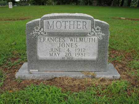 WILMUTH JONES, FRANCES - St. Francis County, Arkansas | FRANCES WILMUTH JONES - Arkansas Gravestone Photos