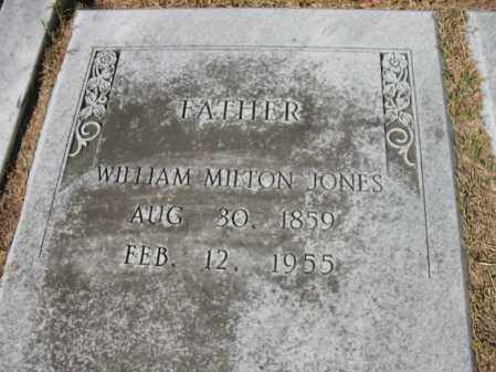 JONES, WILLIAM MILTON - St. Francis County, Arkansas | WILLIAM MILTON JONES - Arkansas Gravestone Photos