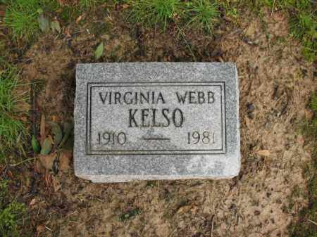 KELSO, VIRGINIA - St. Francis County, Arkansas | VIRGINIA KELSO - Arkansas Gravestone Photos