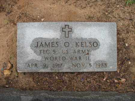 KELSO (VETERAN WWII), JAMES O - St. Francis County, Arkansas | JAMES O KELSO (VETERAN WWII) - Arkansas Gravestone Photos