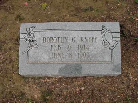 KNEFF, DOROTHY G - St. Francis County, Arkansas | DOROTHY G KNEFF - Arkansas Gravestone Photos