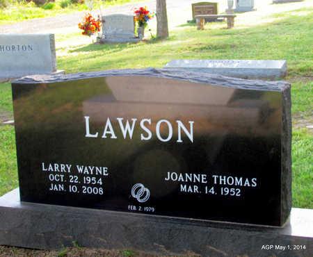 LAWSON, LARRY WAYNE - St. Francis County, Arkansas   LARRY WAYNE LAWSON - Arkansas Gravestone Photos