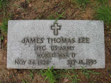 LEE (VETERAN WWII), JAMES THOMAS - St. Francis County, Arkansas | JAMES THOMAS LEE (VETERAN WWII) - Arkansas Gravestone Photos