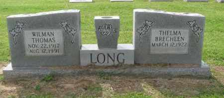LONG, WILMAN THOMAS - St. Francis County, Arkansas   WILMAN THOMAS LONG - Arkansas Gravestone Photos