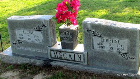 MCCAIN, EUGENE - St. Francis County, Arkansas | EUGENE MCCAIN - Arkansas Gravestone Photos