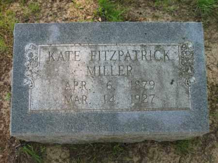 MILLER, KATE - St. Francis County, Arkansas | KATE MILLER - Arkansas Gravestone Photos