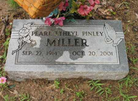 PINLEY MILLER, PEARL ETHEYL - St. Francis County, Arkansas | PEARL ETHEYL PINLEY MILLER - Arkansas Gravestone Photos