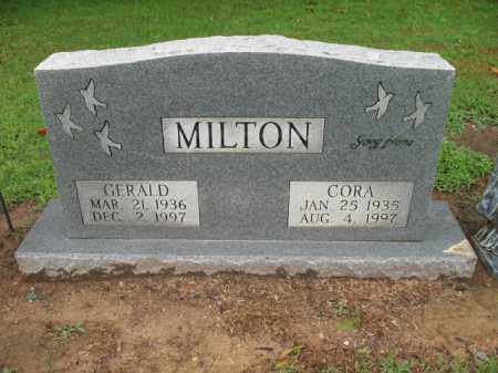MILTON, GERALD WILLIAM - St. Francis County, Arkansas | GERALD WILLIAM MILTON - Arkansas Gravestone Photos