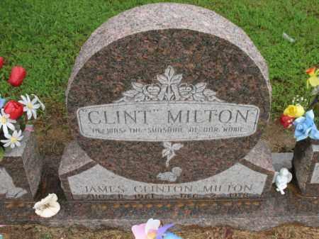 "MILTON, JAMES CLINTON ""CLINT"" - St. Francis County, Arkansas | JAMES CLINTON ""CLINT"" MILTON - Arkansas Gravestone Photos"