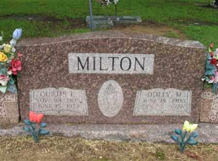 MILTON, SR, CURTIS LEE - St. Francis County, Arkansas | CURTIS LEE MILTON, SR - Arkansas Gravestone Photos