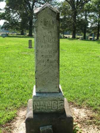 NANCE, J W - St. Francis County, Arkansas   J W NANCE - Arkansas Gravestone Photos