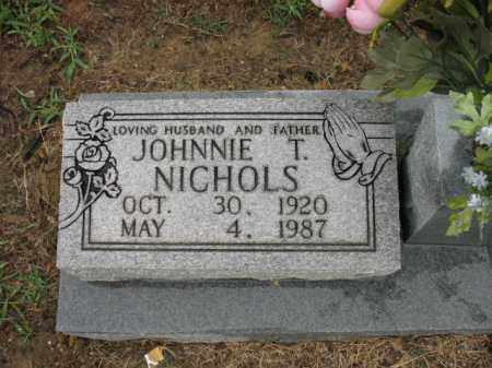 NICHOLS, JOHNNIE T - St. Francis County, Arkansas | JOHNNIE T NICHOLS - Arkansas Gravestone Photos