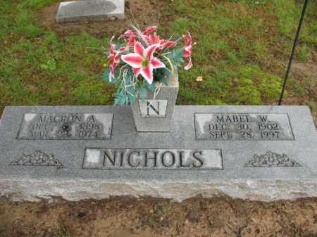 NICHOLS, MACRON A - St. Francis County, Arkansas | MACRON A NICHOLS - Arkansas Gravestone Photos