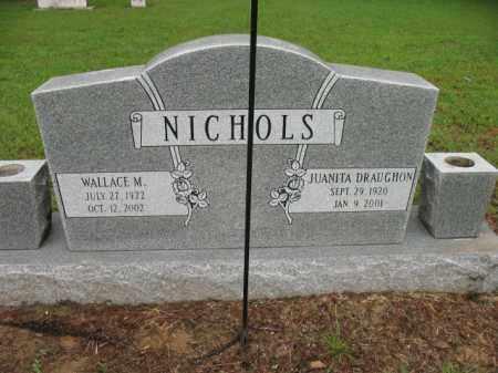 NICHOLS, WALLACE MACRON - St. Francis County, Arkansas | WALLACE MACRON NICHOLS - Arkansas Gravestone Photos