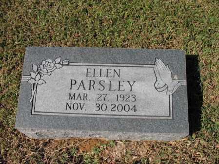 PARSLEY, ELLEN - St. Francis County, Arkansas | ELLEN PARSLEY - Arkansas Gravestone Photos