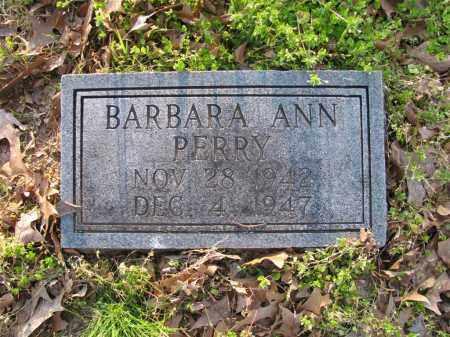 PERRY, BARBARA ANN - St. Francis County, Arkansas | BARBARA ANN PERRY - Arkansas Gravestone Photos