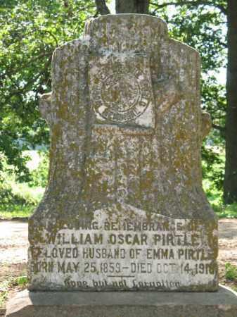 PIRTLE, WILLIAM OSCAR - St. Francis County, Arkansas | WILLIAM OSCAR PIRTLE - Arkansas Gravestone Photos