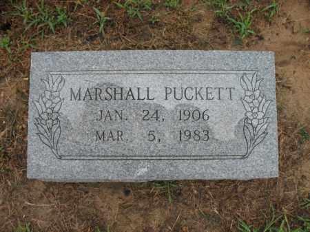 PUCKETT, MARSHALL - St. Francis County, Arkansas | MARSHALL PUCKETT - Arkansas Gravestone Photos