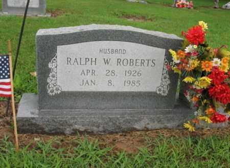ROBERTS, RALPH W - St. Francis County, Arkansas   RALPH W ROBERTS - Arkansas Gravestone Photos