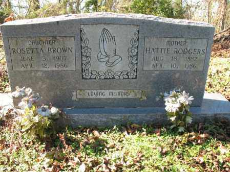 RODGERS, HATTIE - St. Francis County, Arkansas | HATTIE RODGERS - Arkansas Gravestone Photos