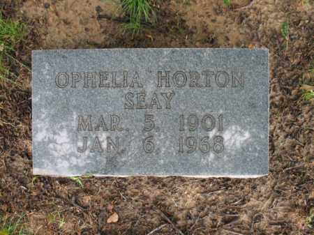 HORTON SEAY, OPHELIA - St. Francis County, Arkansas | OPHELIA HORTON SEAY - Arkansas Gravestone Photos